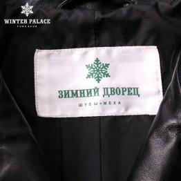 Brand Motorcycle leather jacket New Fashion leather jacket women 2018 spring Black genuine leather jacket women WINTER PALACE