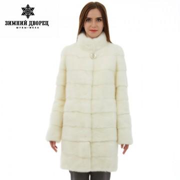 Genuine Leather women fur coat Fashion Slim Furwinter jackets womenmink fur coat mink fur coats for women Warm Mandarin Collar32694090491